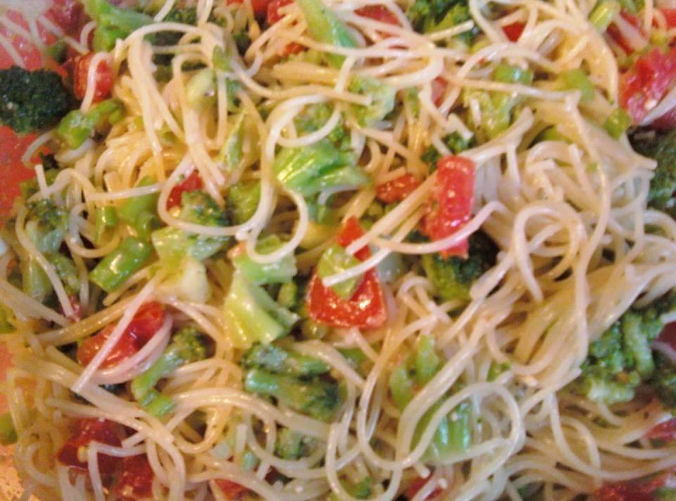 Angel Hair Pasta Salad  angel hair pasta salad Recipe 2