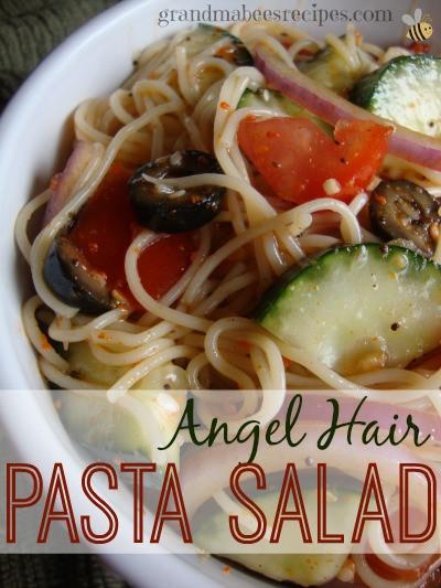 Angel Hair Pasta Salad  Angel Hair Pasta Salad
