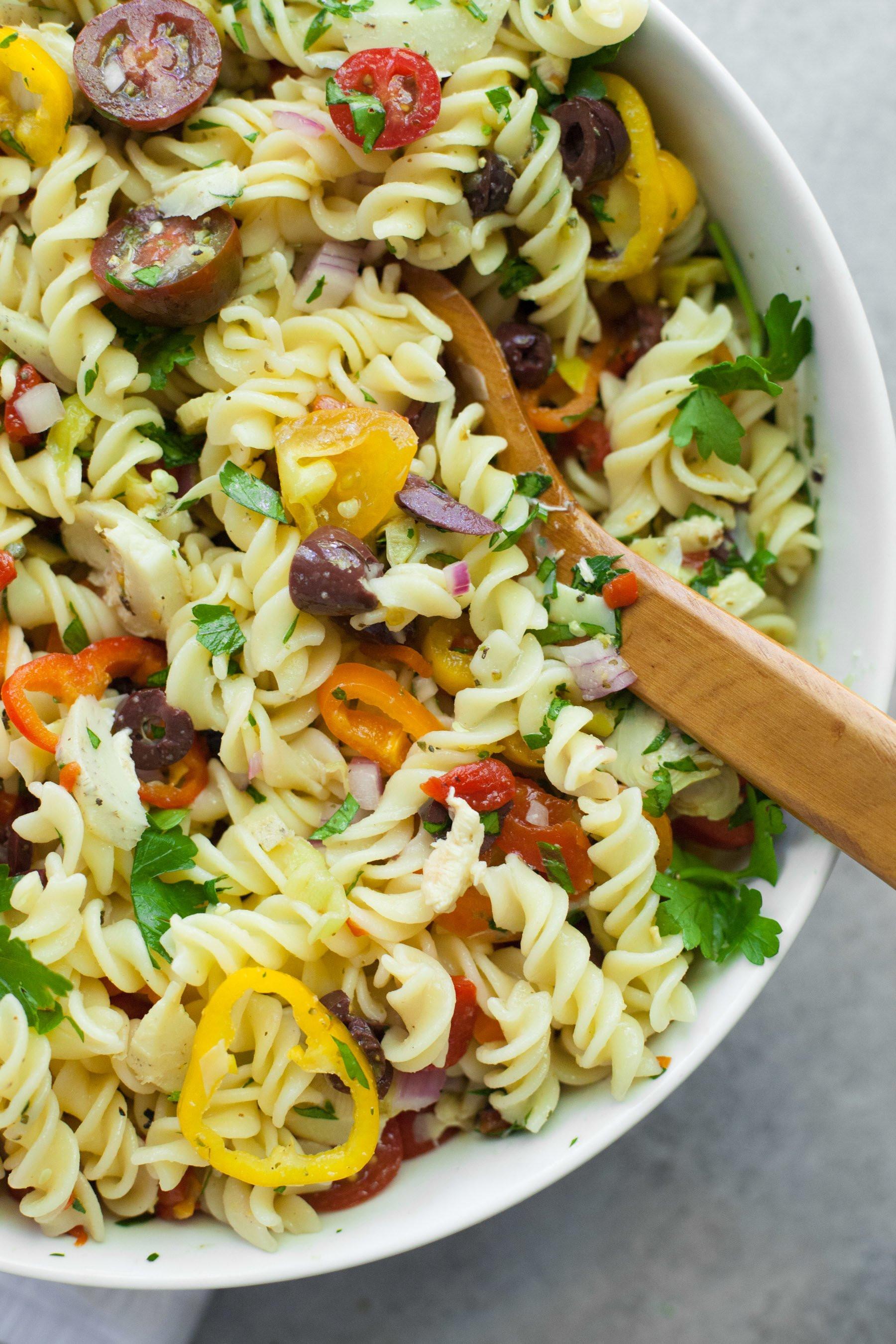 Antipasto Pasta Salad  Vegan Antipasto Pasta Salad