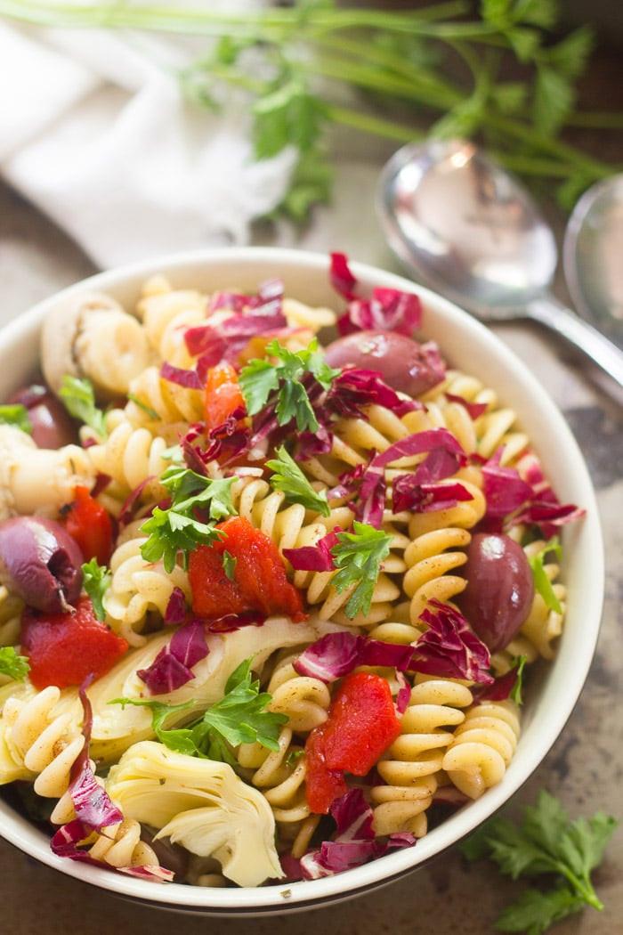 Antipasto Pasta Salad  Antipasto Pasta Salad Connoisseurus Veg