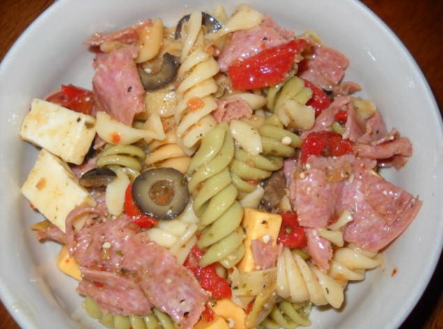 Antipasto Pasta Salad  antipasto pasta recipes