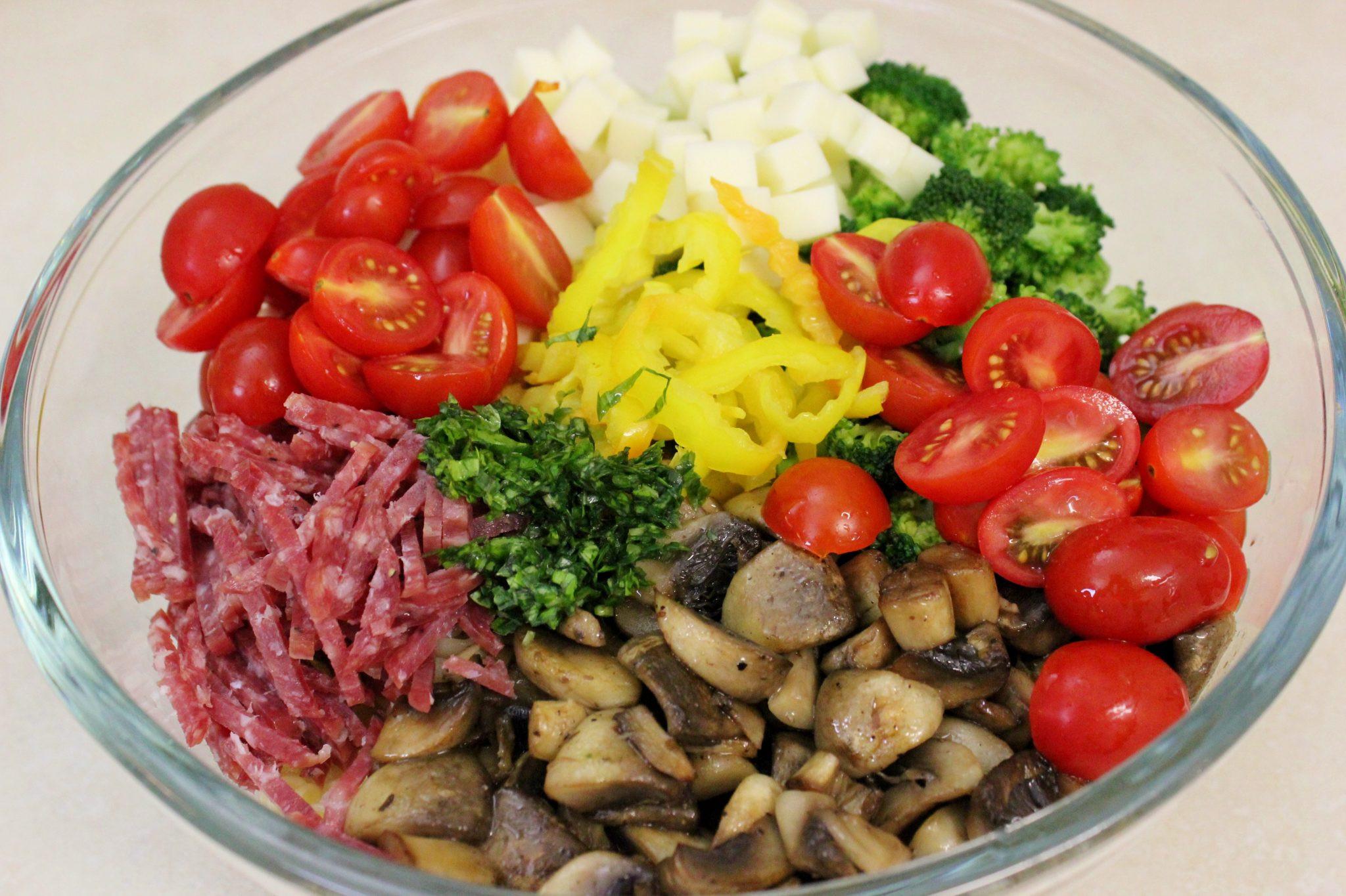 Antipasto Pasta Salad  Antipasto Pasta Salad Olga s Flavor Factory