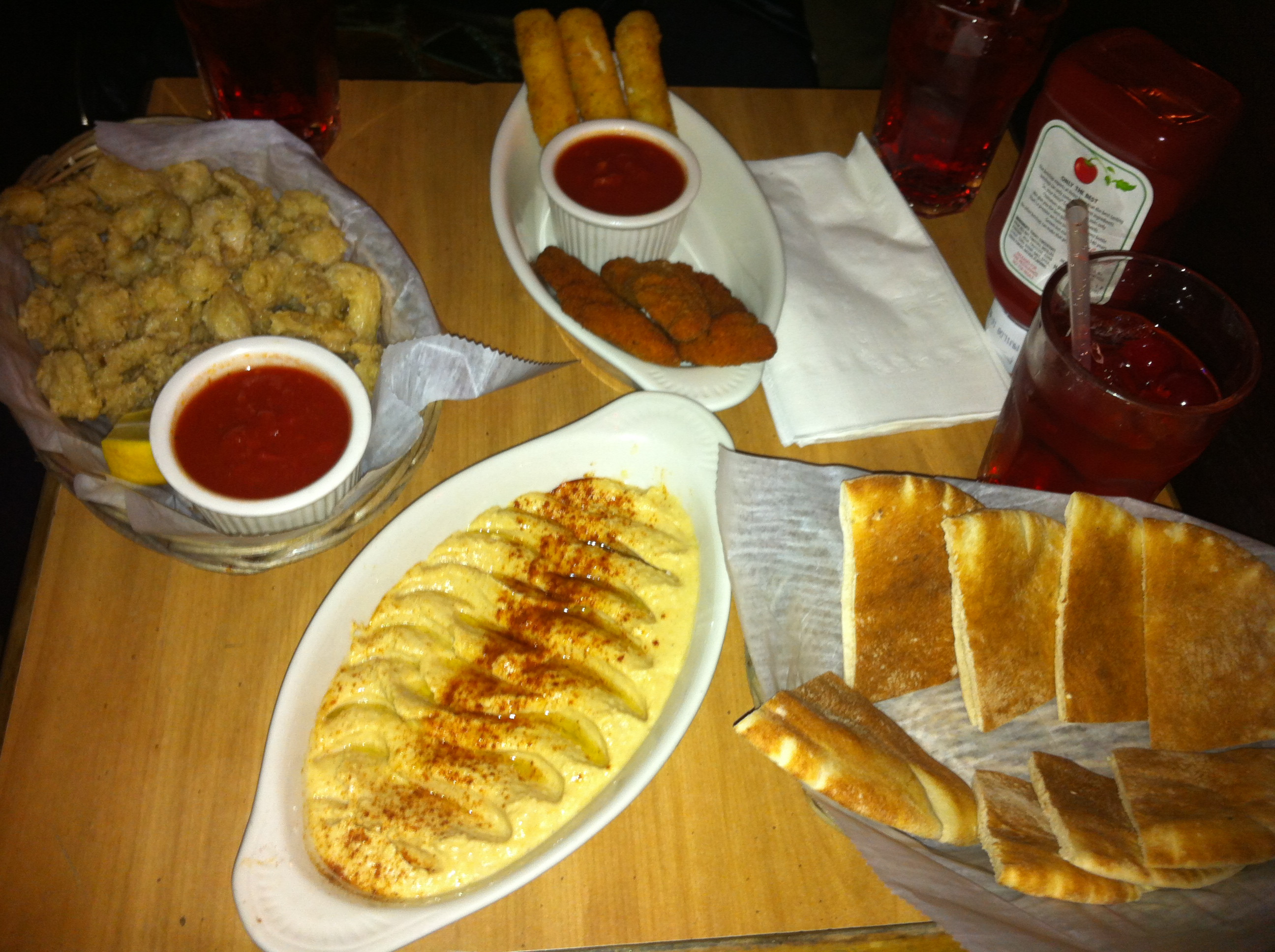 Appetizers For Dinner  Finish Week 13 14 15 16