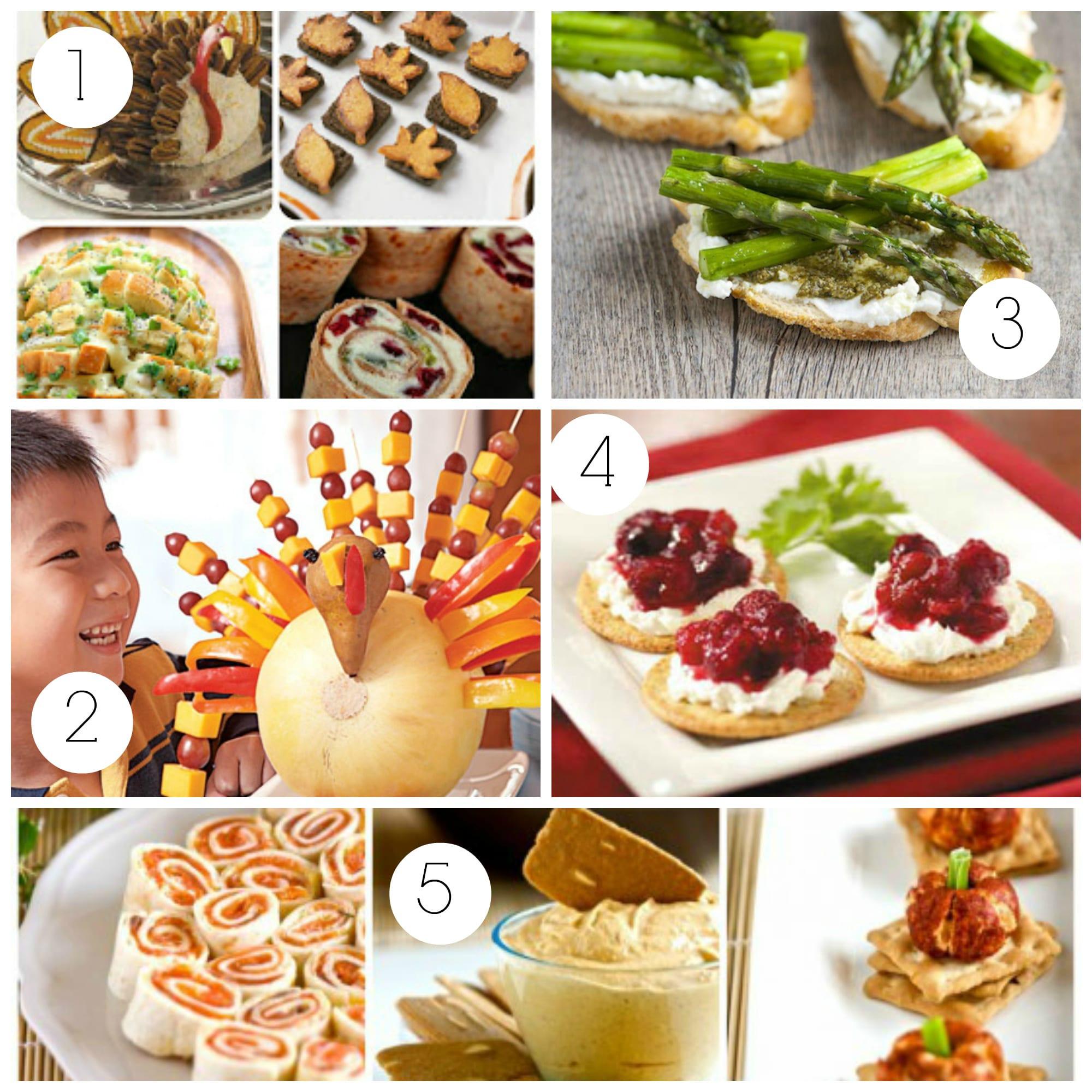 Appetizers For Thanksgiving Dinner  Thanksgiving