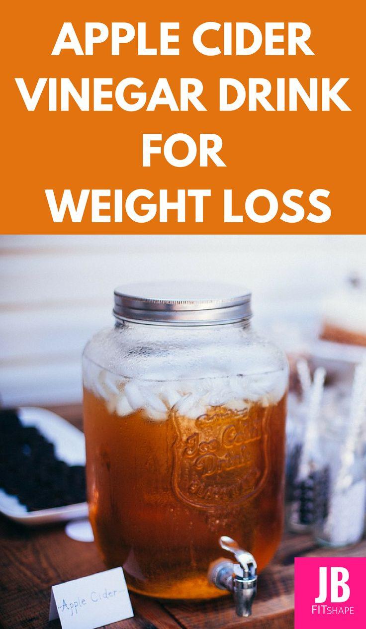 Apple Cider Vinegar Weight Loss Drink  Apple Cider Vinegar Drink for Weight Loss