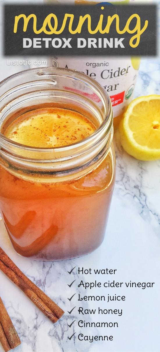 Apple Cider Vinegar Weight Loss Drink  Invigorating Apple Cider Vinegar Detox Drink Recipe