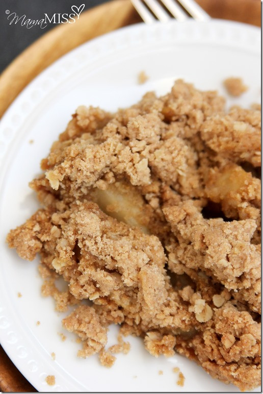 Apple Crisp With Cake Mix  The Best Apple Crisp Mama Miss