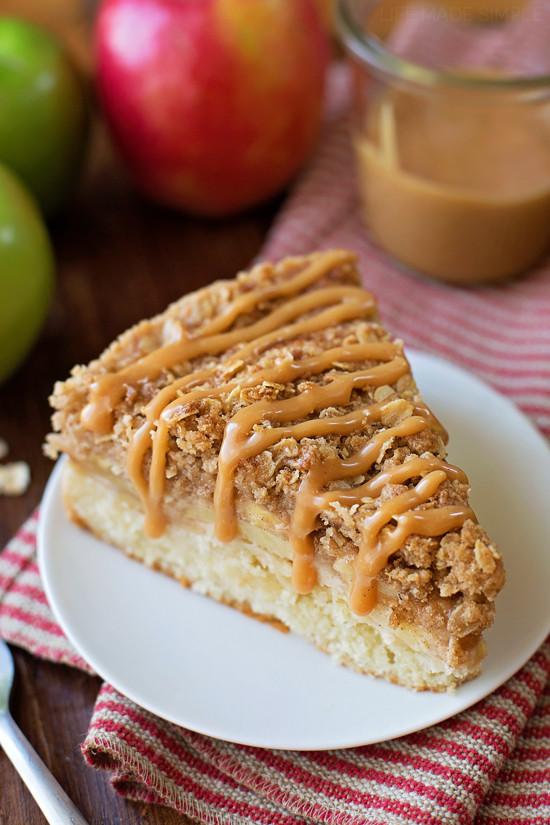 Apple Crisp With Cake Mix  Apple Crisp Crumb Cake