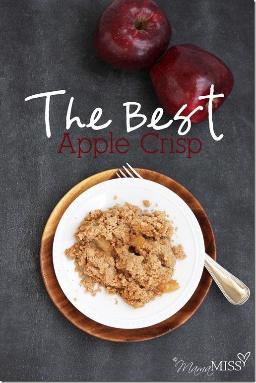 Apple Crisp With Cake Mix  Apple crisp Spice cake mix and Cakes on Pinterest