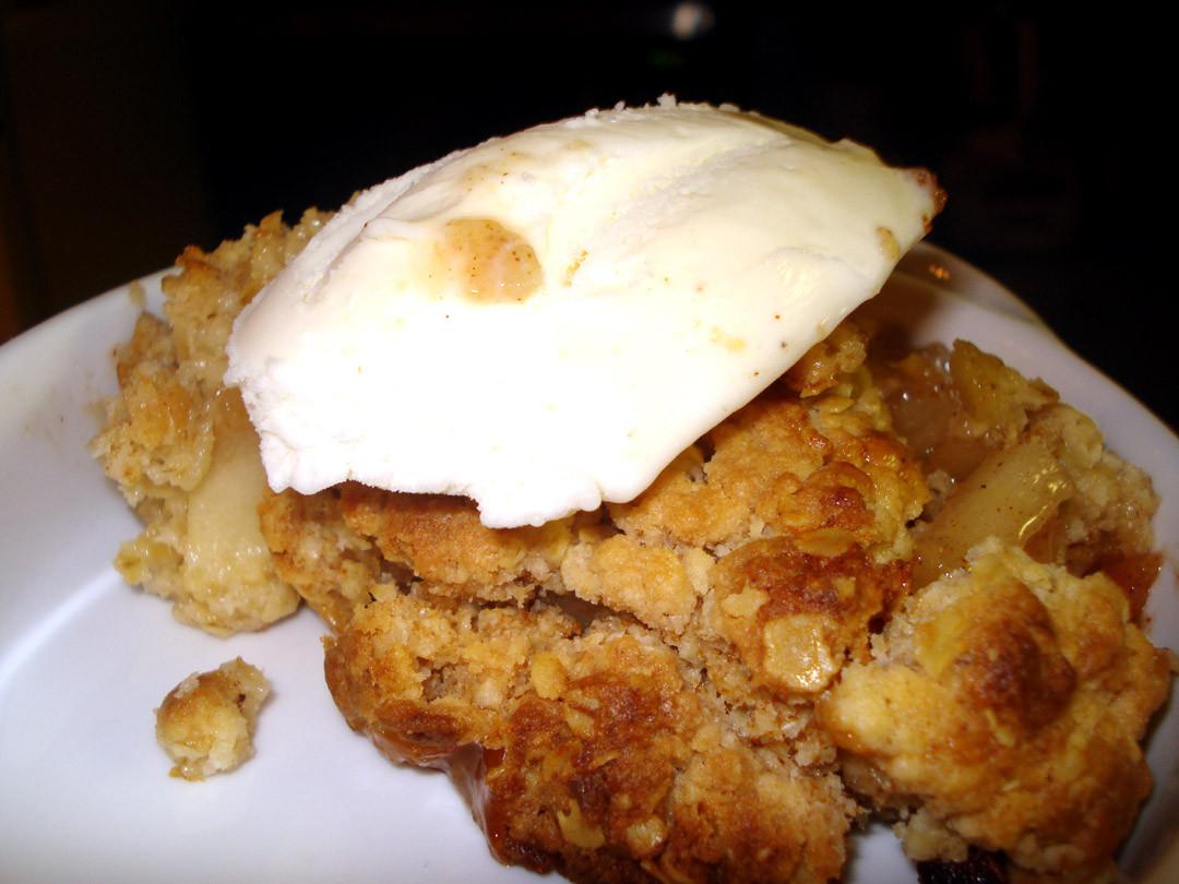 Apple Crisp With Cake Mix  Apple Crisp Cake – Down Home Dieting