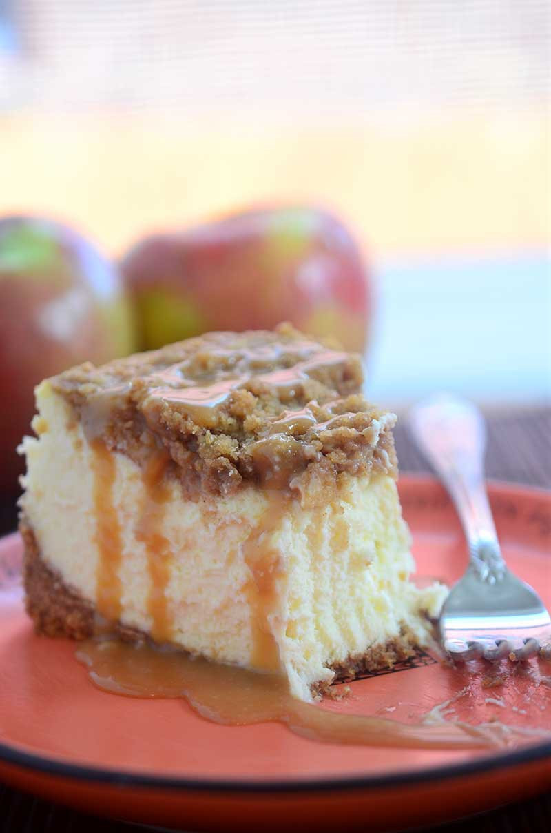 Apple Pie Cheesecake  Caramel Apple Pie Cheesecake Life s Ambrosia