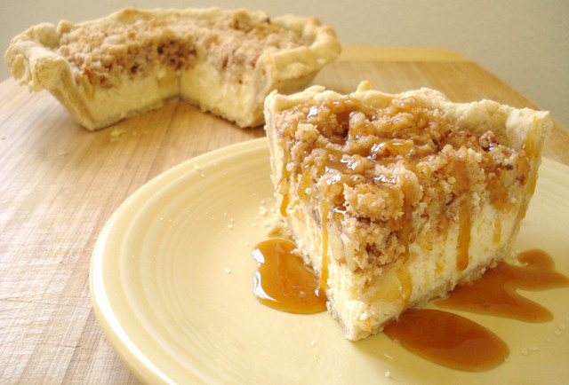 Apple Pie Cheesecake  KREMALI ELMALI TURTA