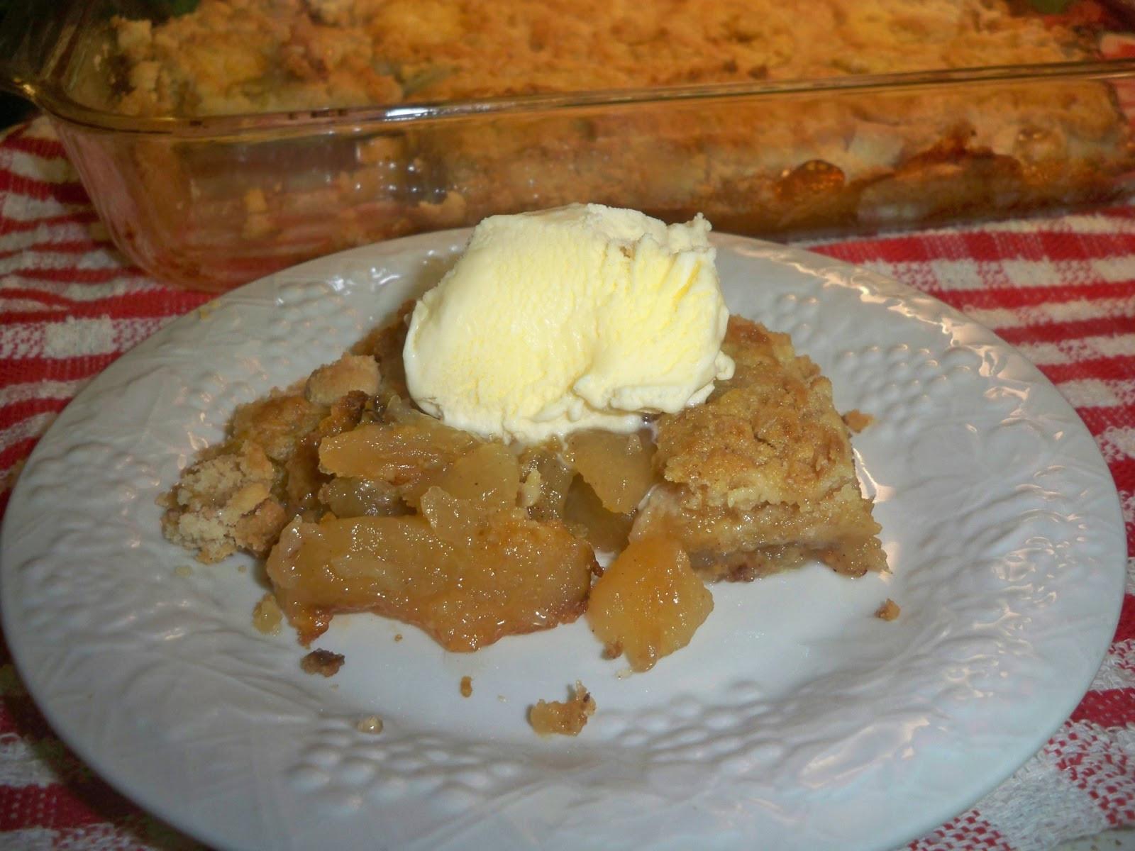 Apple Pie Filling Dump Cake  Gramma s in the kitchen Apple Dump Cake