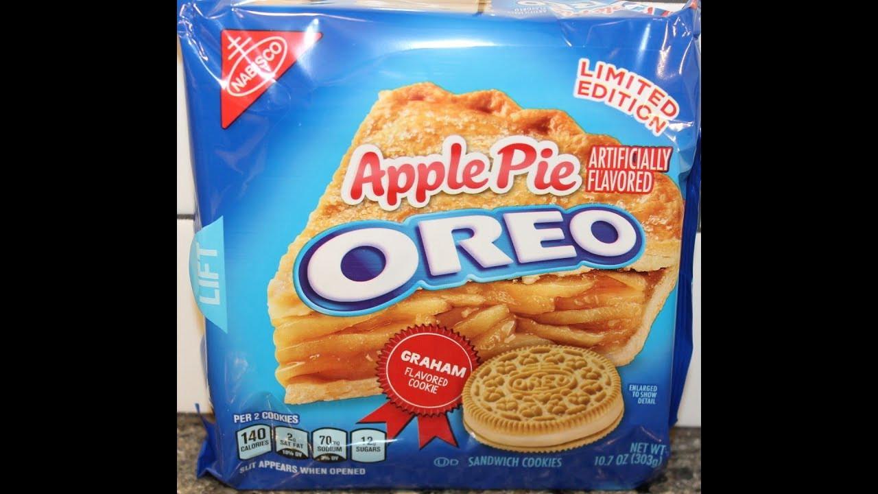 Apple Pie Oreos  Apple Pie Oreo Cookie Review