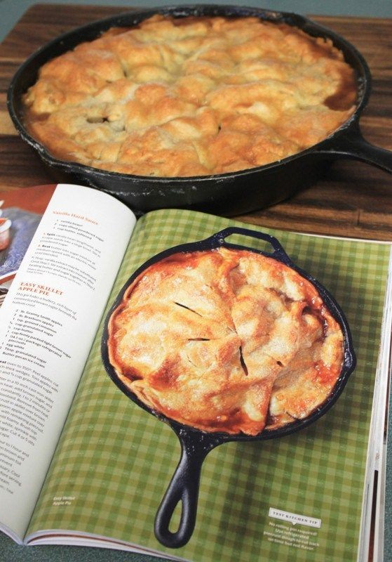 Apple Pie Recipe Easy  Easy Cast Iron Skillet Apple Pie recipe Absolutely the