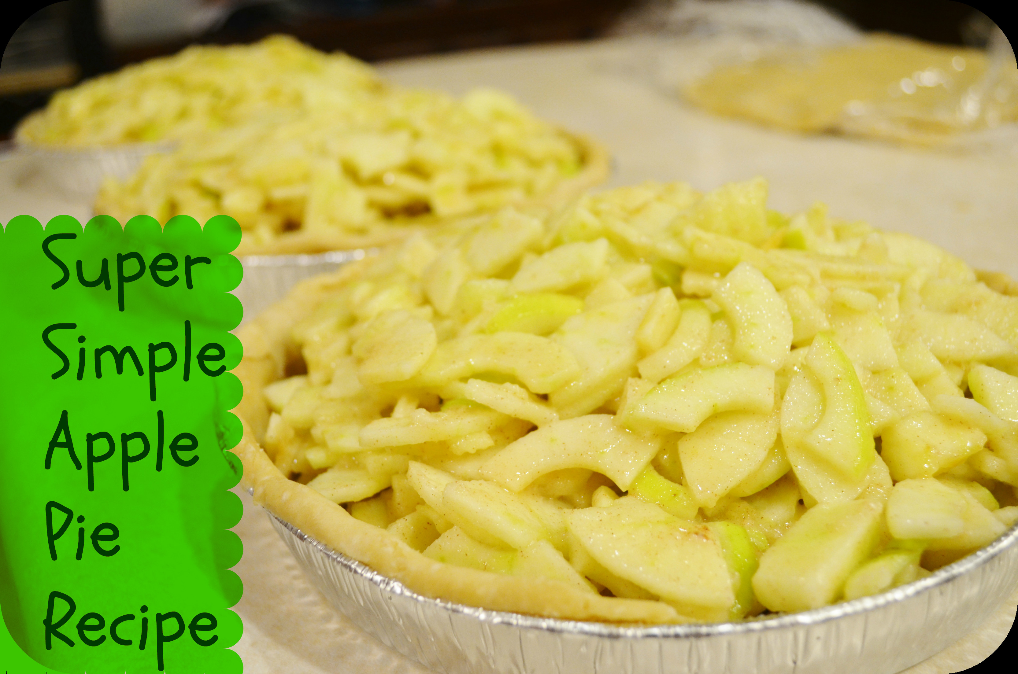 Apple Pie Recipe Easy  Easy Homemade Apple Pie Recipe From Tree to Table
