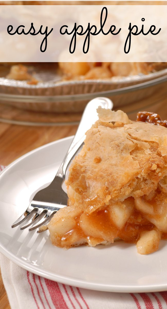 Apple Pie Recipe Easy  Easy Apple Pie Recipe — Dishmaps