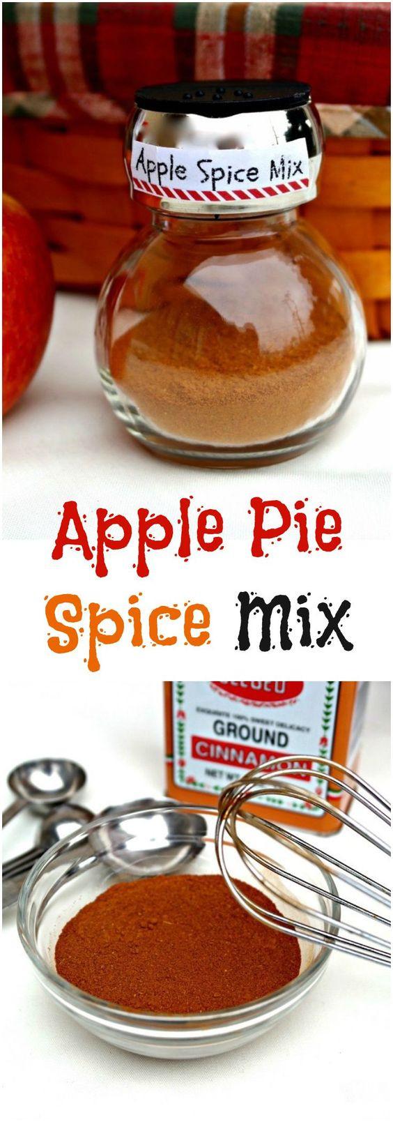 Apple Pie Spices  Apple Pie Spice Mix Recipe