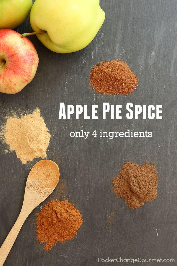 Apple Pie Spices  Apple Pie Spice Recipe Recipe