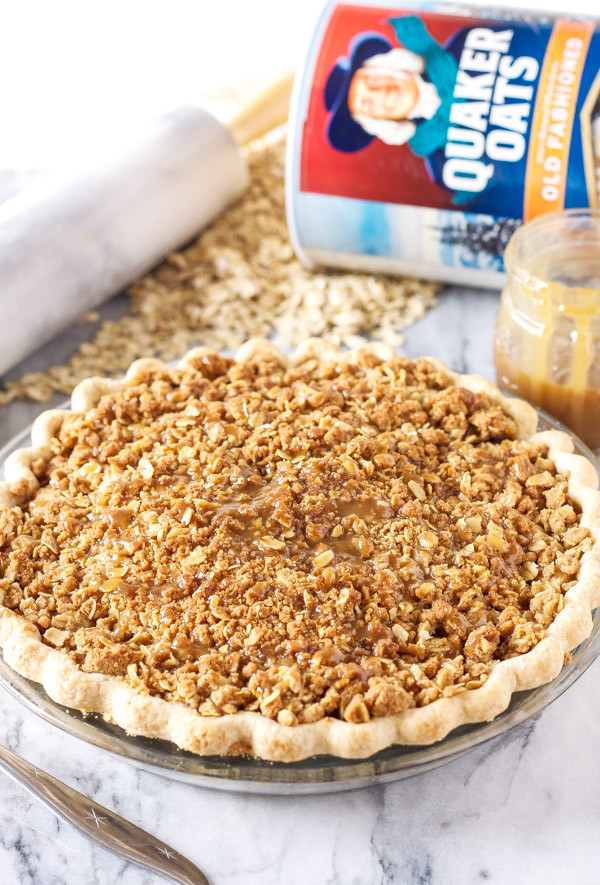 Apple Pie With Crumble Topping  apple pie crumble topping with oats