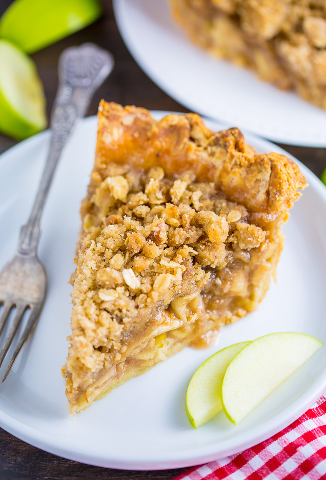 Apple Pie With Crumble Topping  apple pie crumble topping without oats
