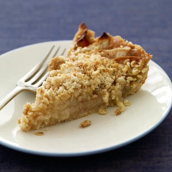 Apple Pie With Crumble Topping  Low Calorie Apple Pie Crumble Topping