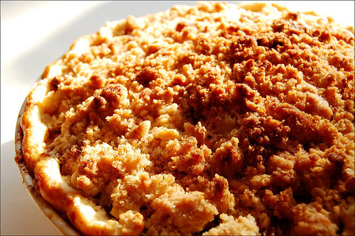 Apple Pie With Crumble Topping  Apple Pie with Crumb Crust BigOven