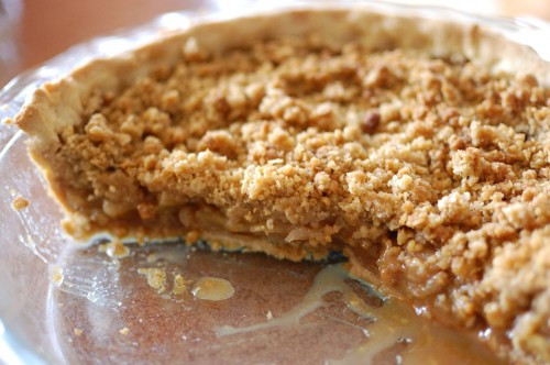 Apple Pie With Crumble Topping  Easy Apple Pie Recipe With Crumb Topping – Apple Pie With