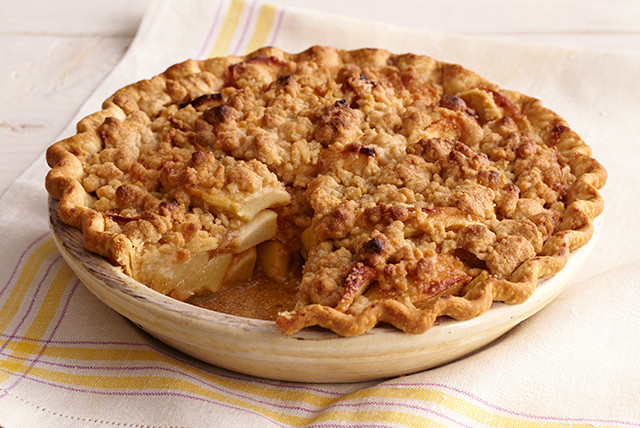 Apple Pie With Crumble Topping  Apple Crumb Pie Recipe Kraft Canada