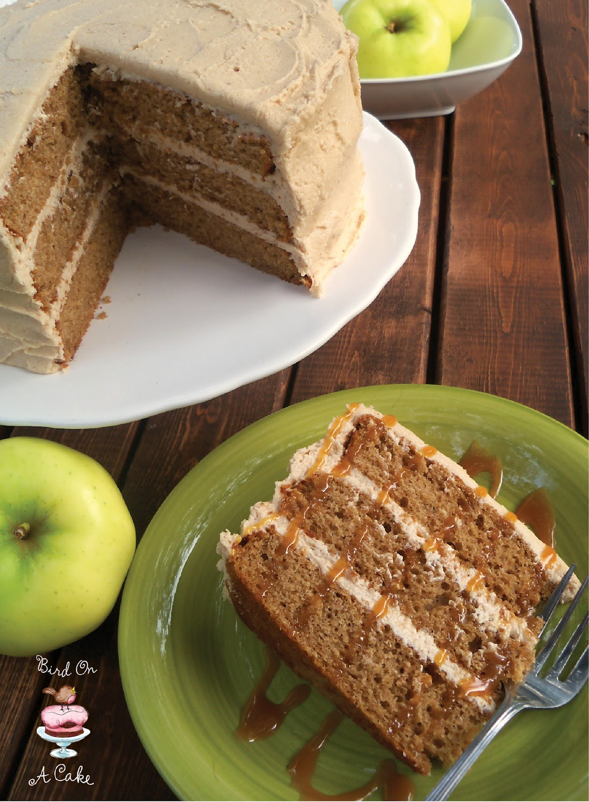 Apple Spice Cake  Apple Cider Spice Cake with Apple Butter Frosting