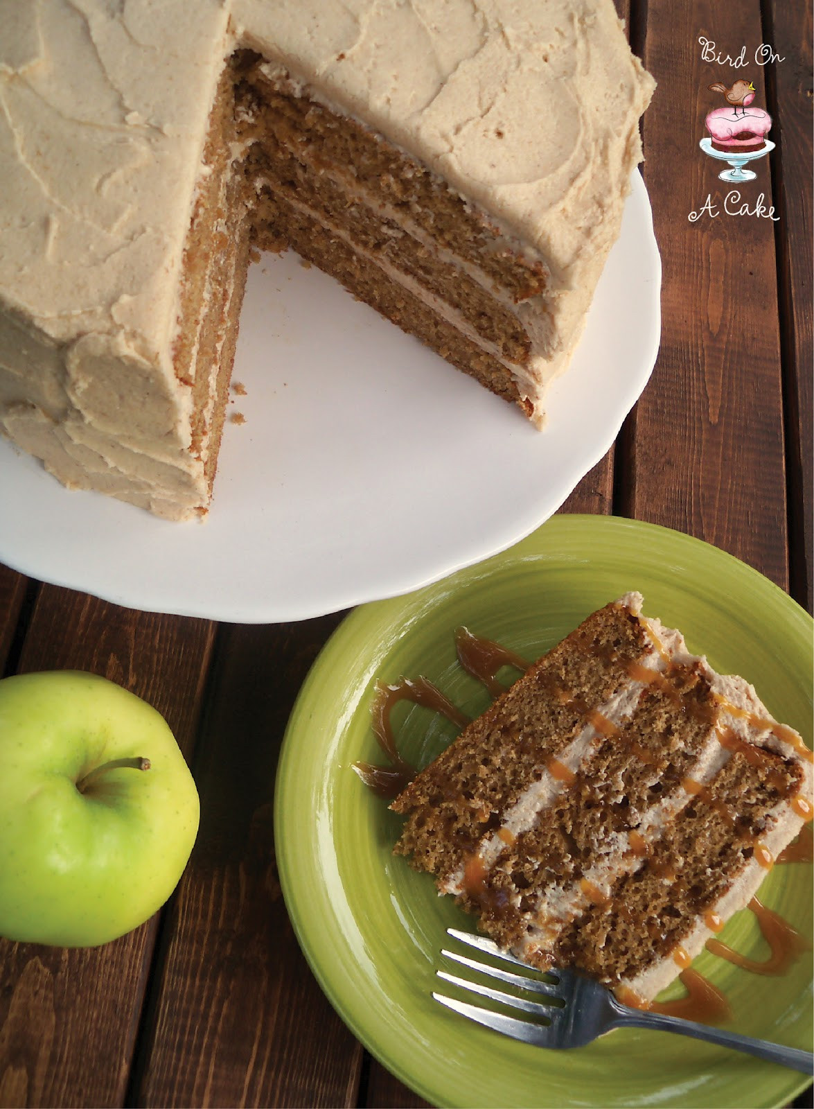 Apple Spice Cake  Bird A Cake Apple Cider Spice Cake with Apple Butter