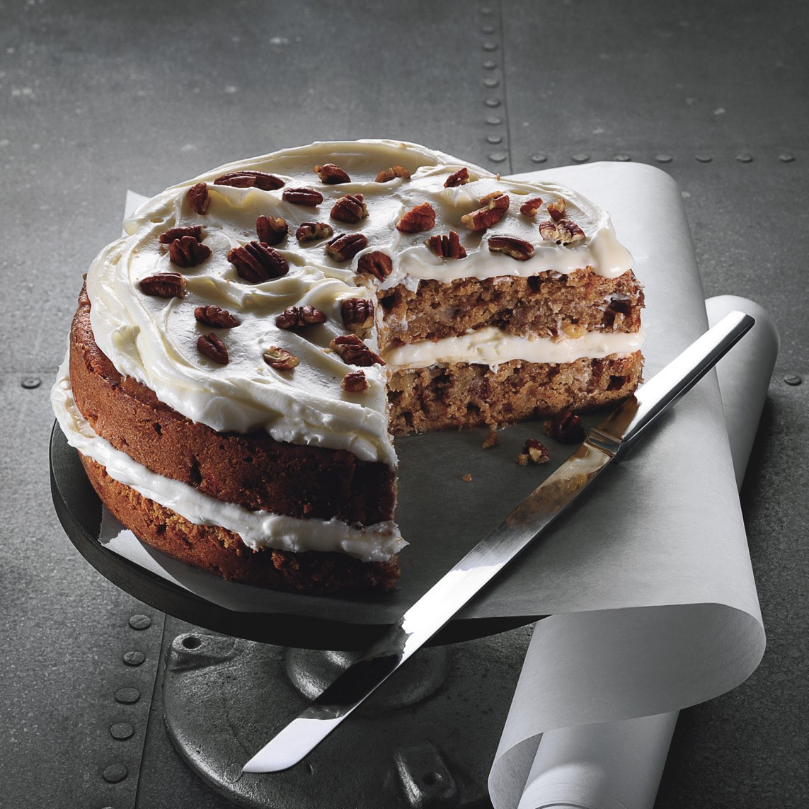 Apple Spice Cake  Fuji Apple Spice Cake with Cream Cheese Frosting recipe