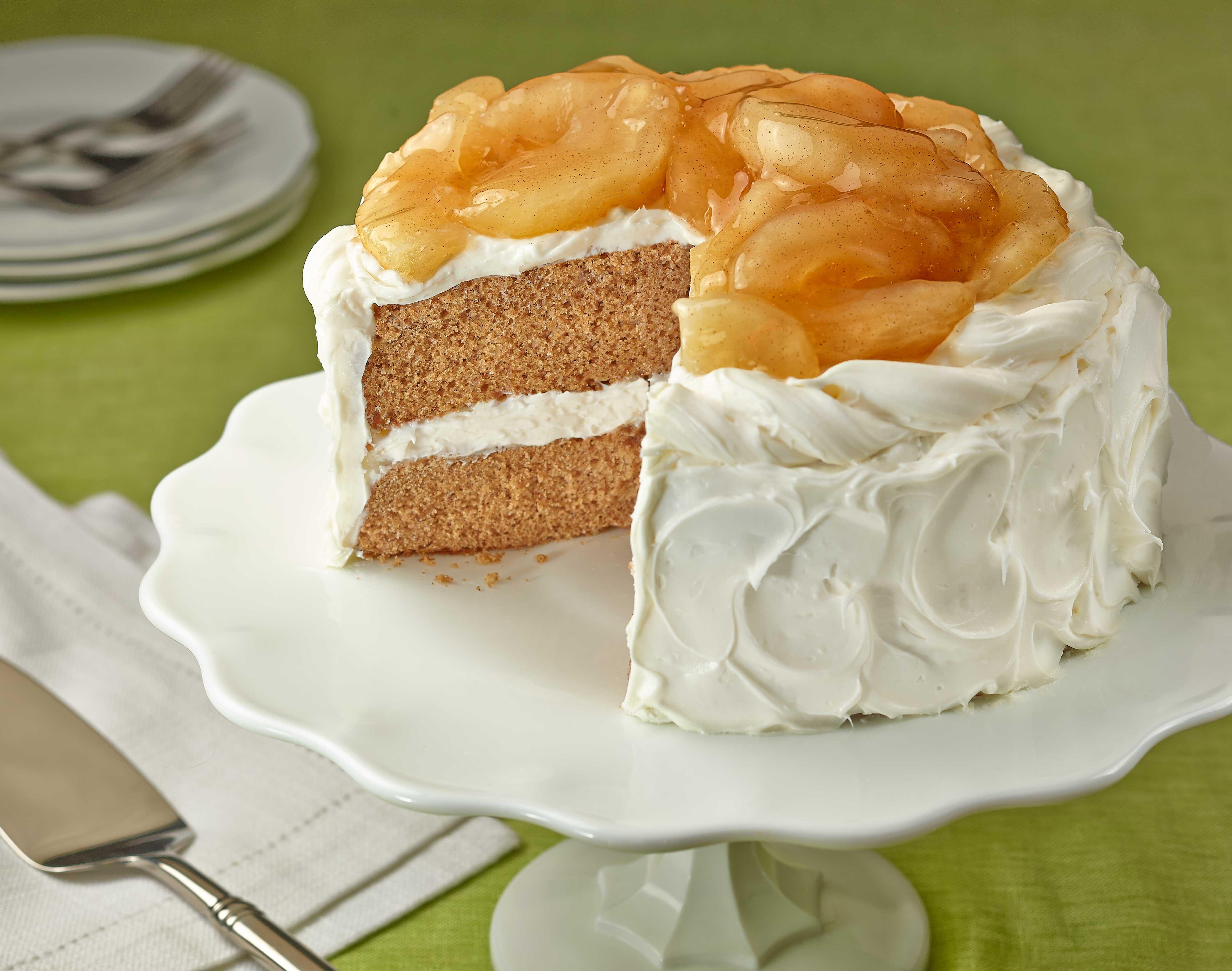 Apple Spice Cake  Harvest Apple Spice Cake