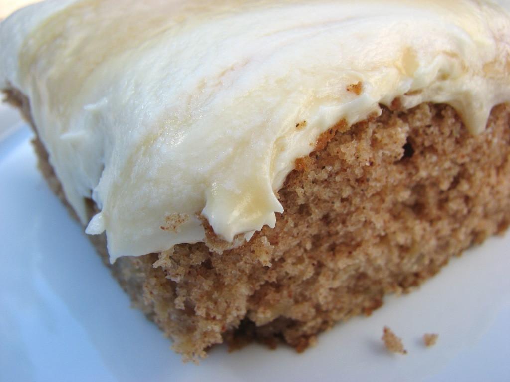 Apple Spice Cake  Heidi Bakes Apple Spice Cake with Dulce De Leche Buttercream