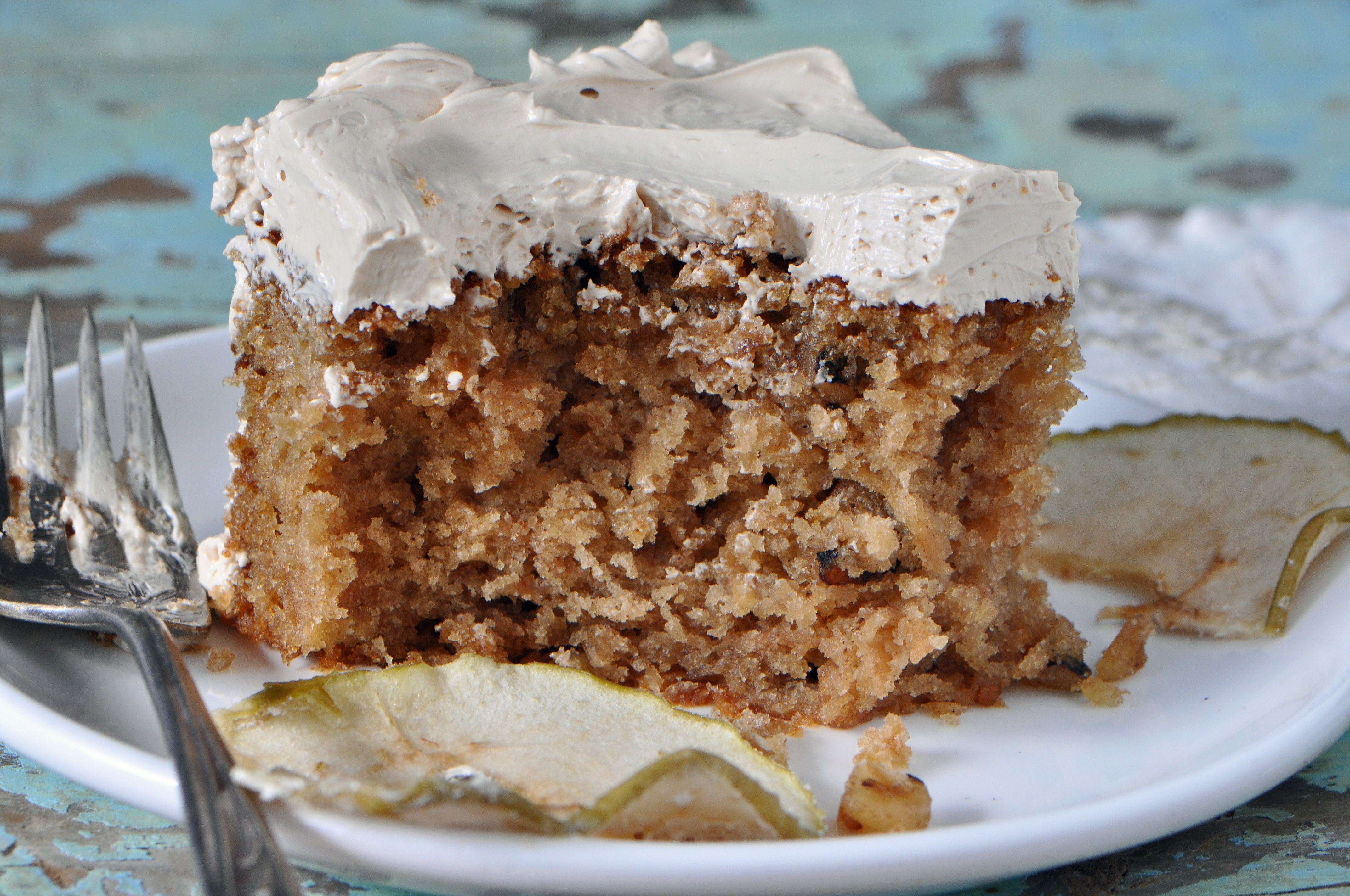 Apple Spice Cake  Apple Spice Cake with Brown Sugar Frosting Recipe