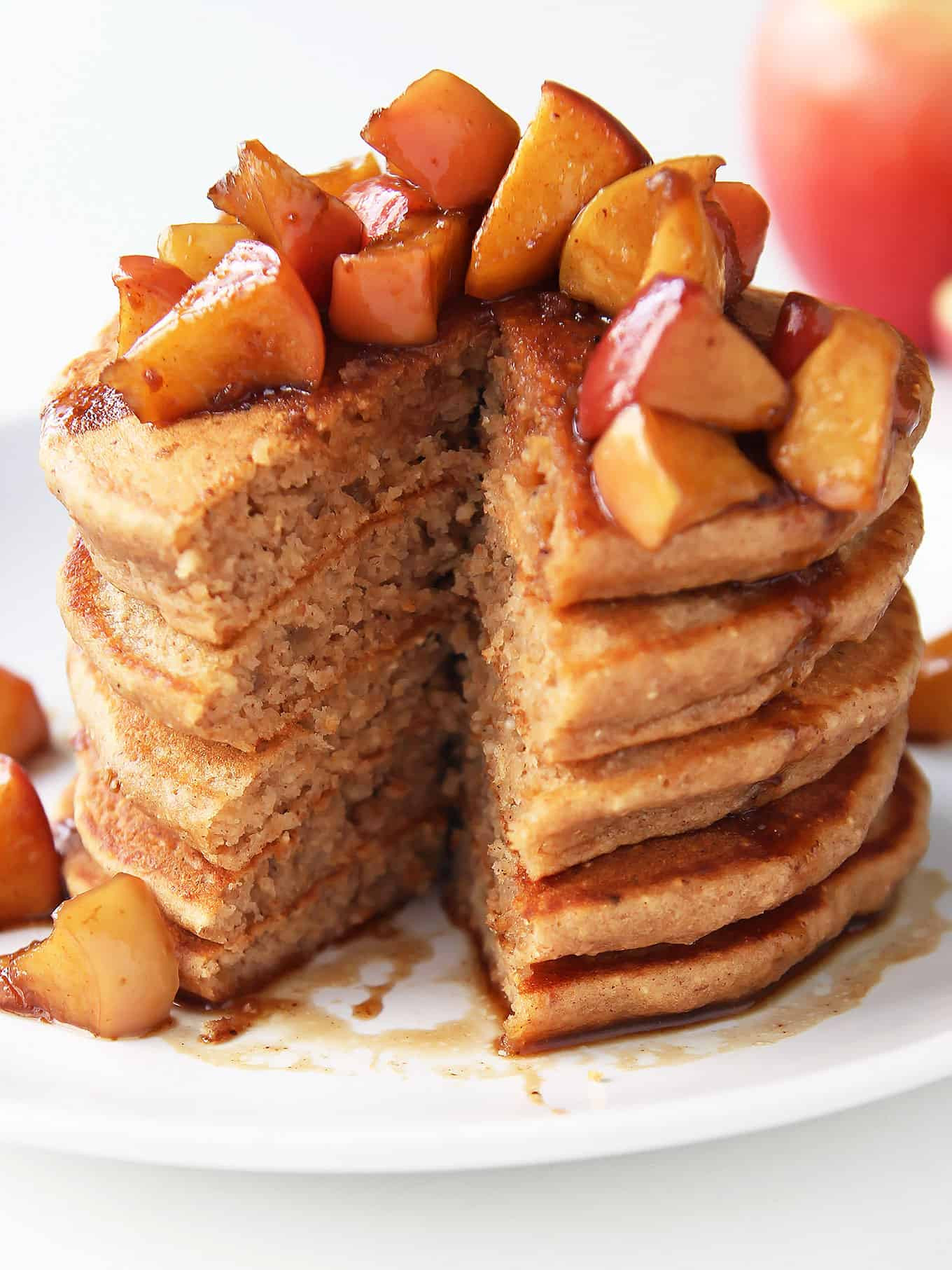 Apple Topping For Pancakes  Pancakes apple topping recipes Food cake recipes