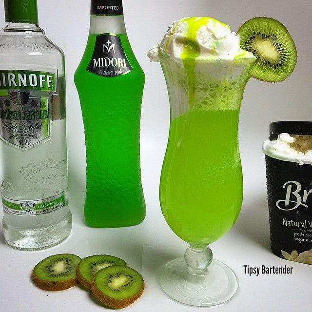 Apple Vodka Drinks  Riddler s Revenge 1 1 2 oz Green Apple Vodka 1 1 2 oz
