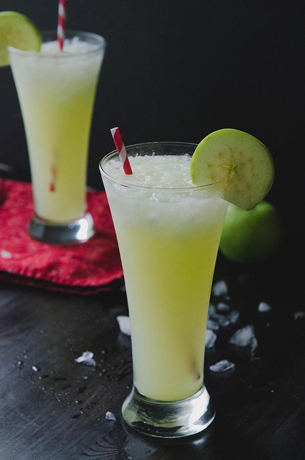 Apple Vodka Drinks  So…Let s Hang Out – Sour Green Apple Ginger & Vodka Spritzer