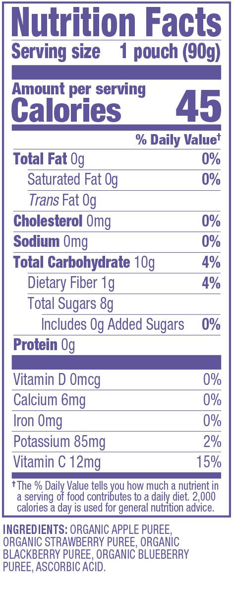 Applesauce Nutrition Facts  Organic Applesauce Nutrition Facts Nutrition Ftempo