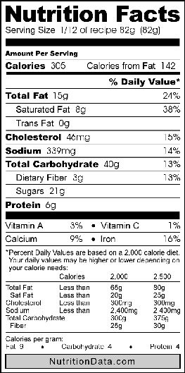 Applesauce Nutrition Facts  save me applesauce nutrition facts