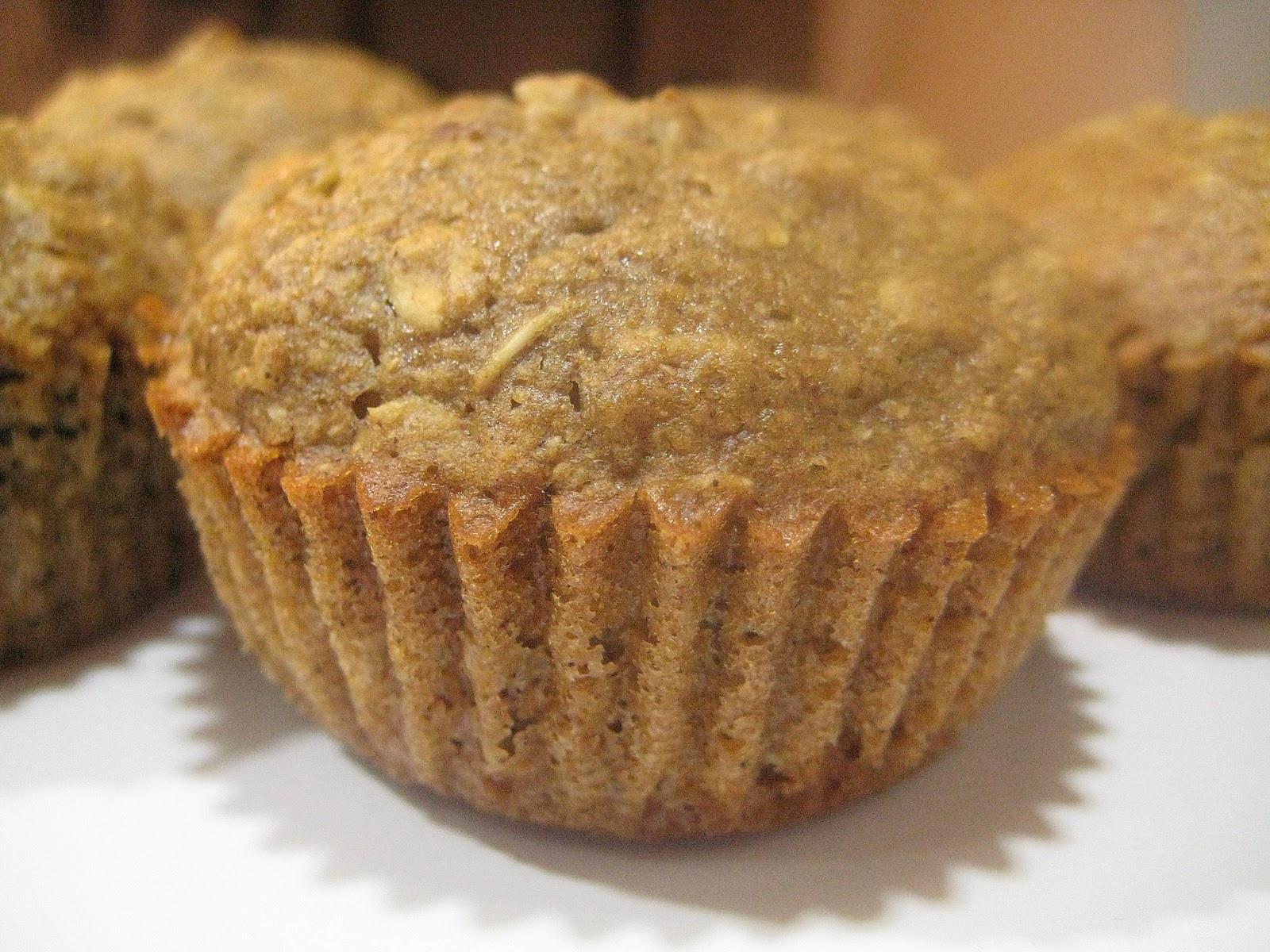 Applesauce Oatmeal Muffins  A Bitchin Kitchen Applesauce Oatmeal Muffins