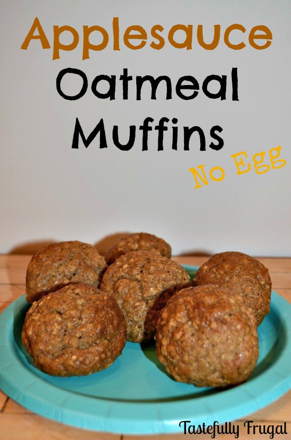 Applesauce Oatmeal Muffins  Applesauce Oatmeal Muffins and The Tasty Tuesday Link