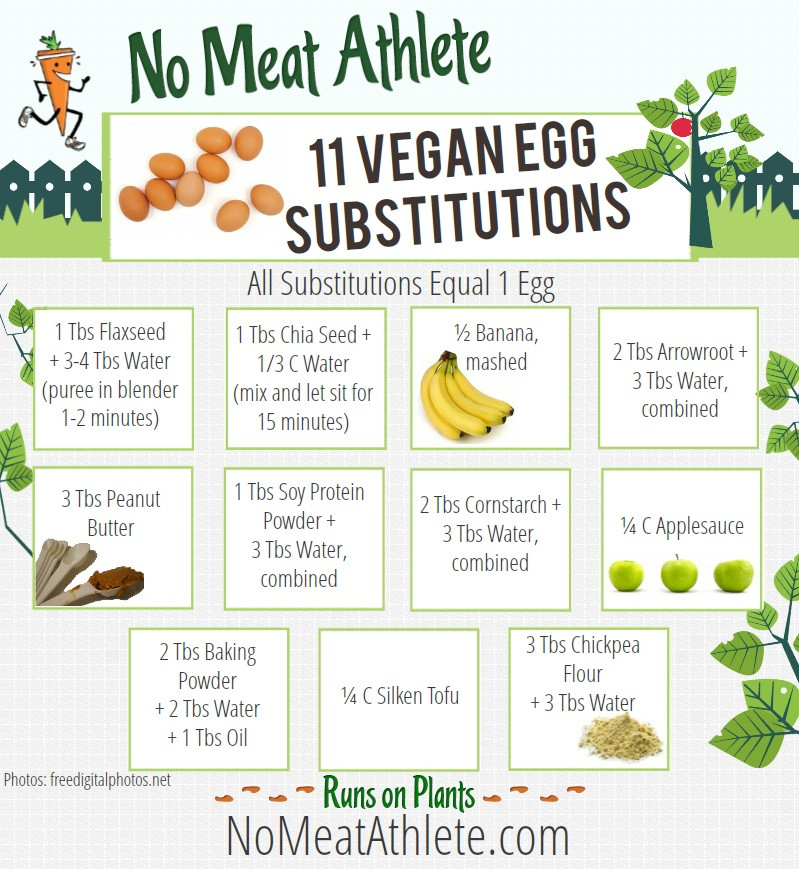 Applesauce Substitute For Egg  Vegan Baking Substitutes