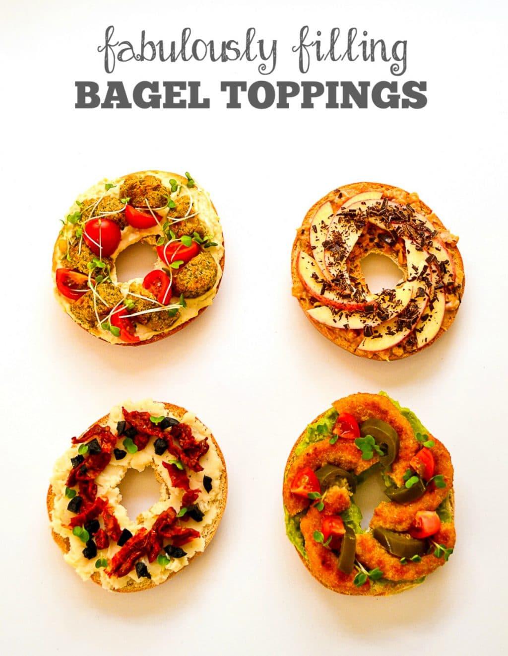 Are Bagels Vegan  Recipe Four Fabulously Filling Vegan Bagel Toppings The