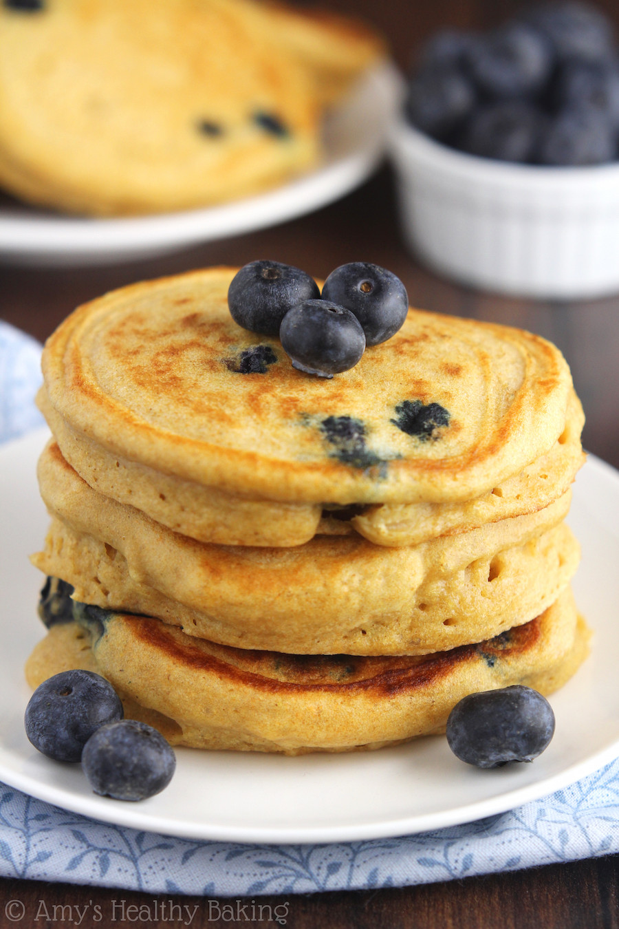 Are Pancakes Healthy  blueberry pancakes healthy
