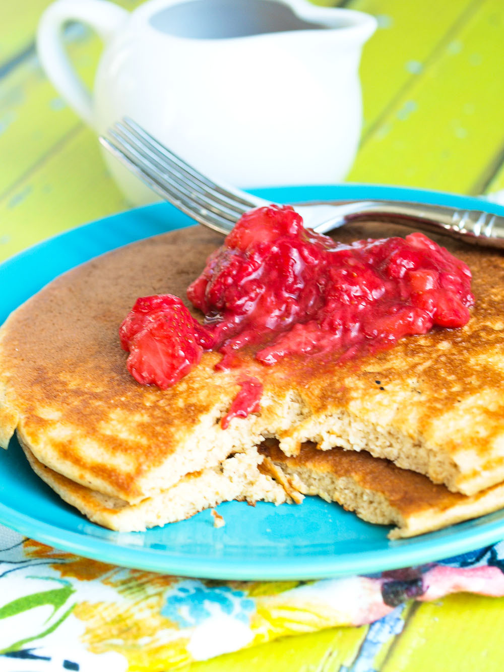 Are Pancakes Healthy  Healthy Pancakes High Protein Happy Healthy Mama