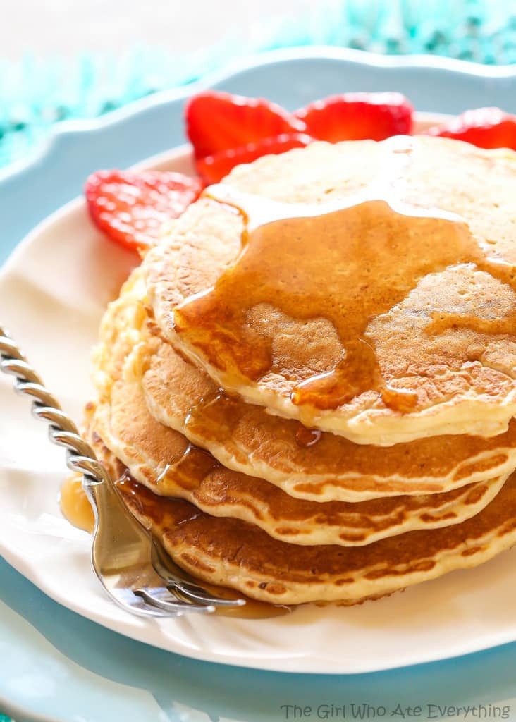 Are Pancakes Healthy  Healthy Oatmeal Pancakes The Girl Who Ate Everything