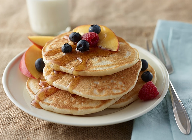 Are Pancakes Healthy  Heart Healthy Buttermilk Pancakes Mixes