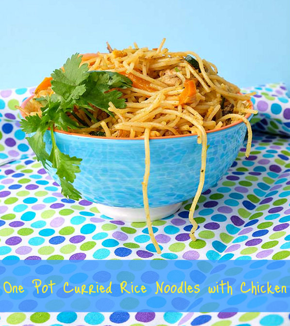 Are Rice Noodles Gluten Free  e Pot Curried Rice Noodles with Chicken ly Gluten