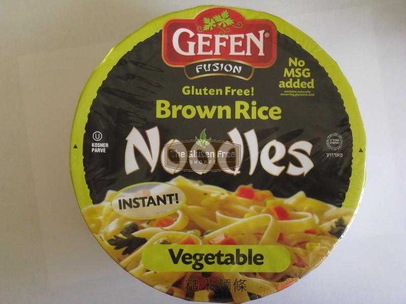 Are Rice Noodles Gluten Free  Gefen Gluten Free Instant Brown Rice Noodles Soup